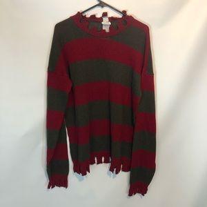 Nightmare on Elm Street Costume Top XL